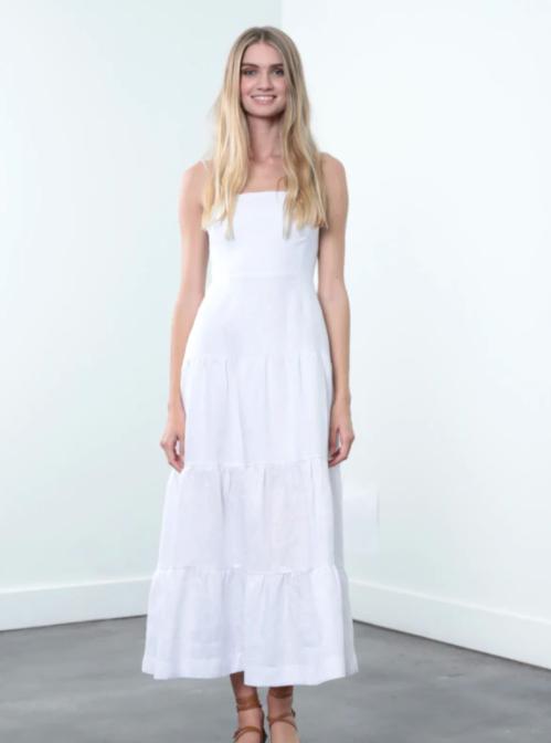 Emma Linen Dress