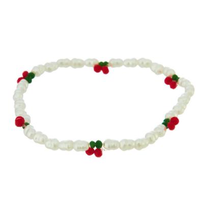 Pearl Cherry Bracelet