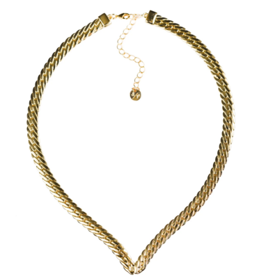 Gold Snake Charmer Necklace