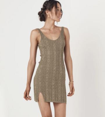 Frenchie Rib Mini Dress