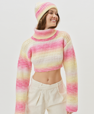 Rosa Turtleneck Cropped Sweater