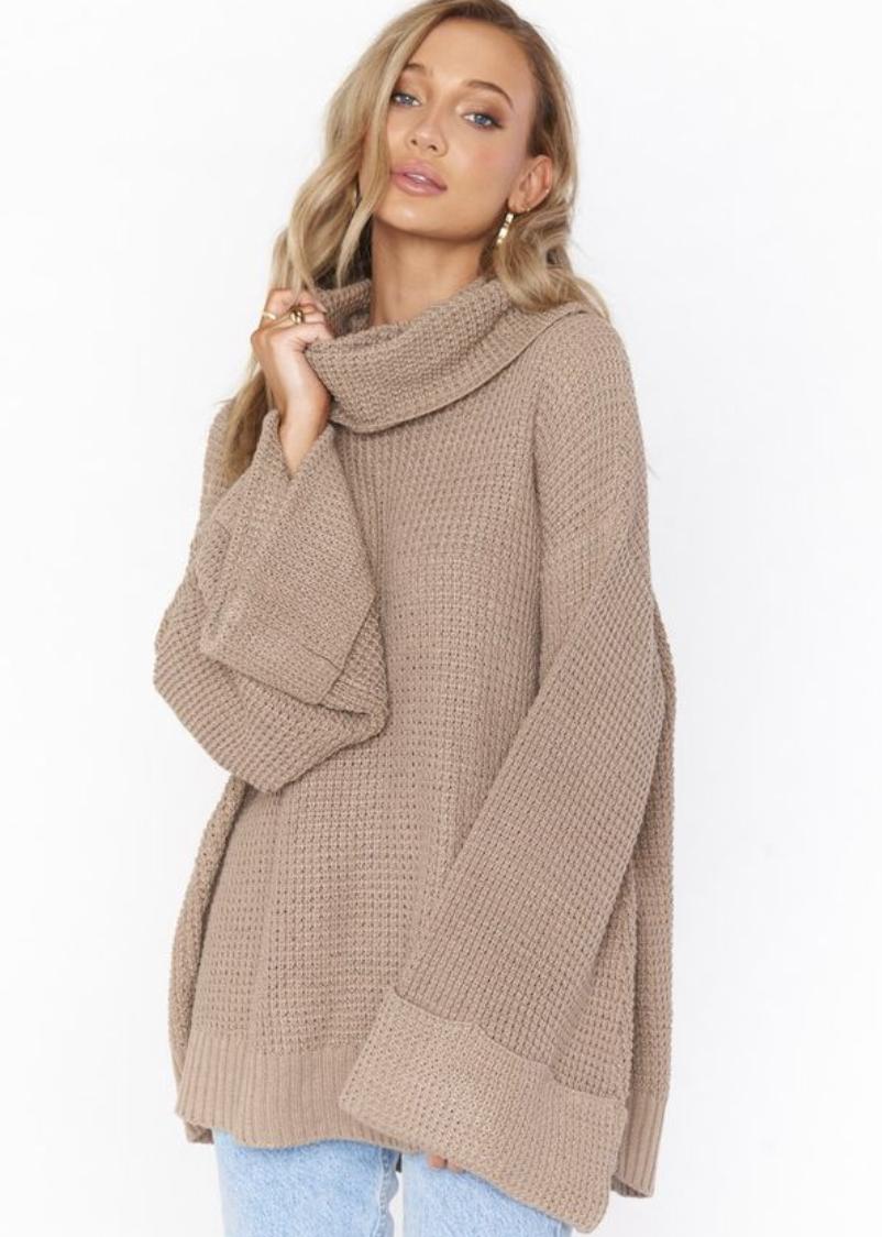 Hicks Waffle Knit Sweater