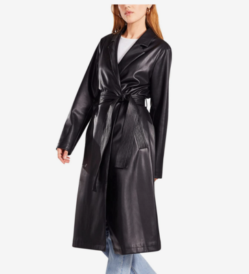 Leather or Not Coat