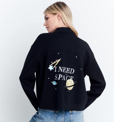 I Need Space Sweater Jacket