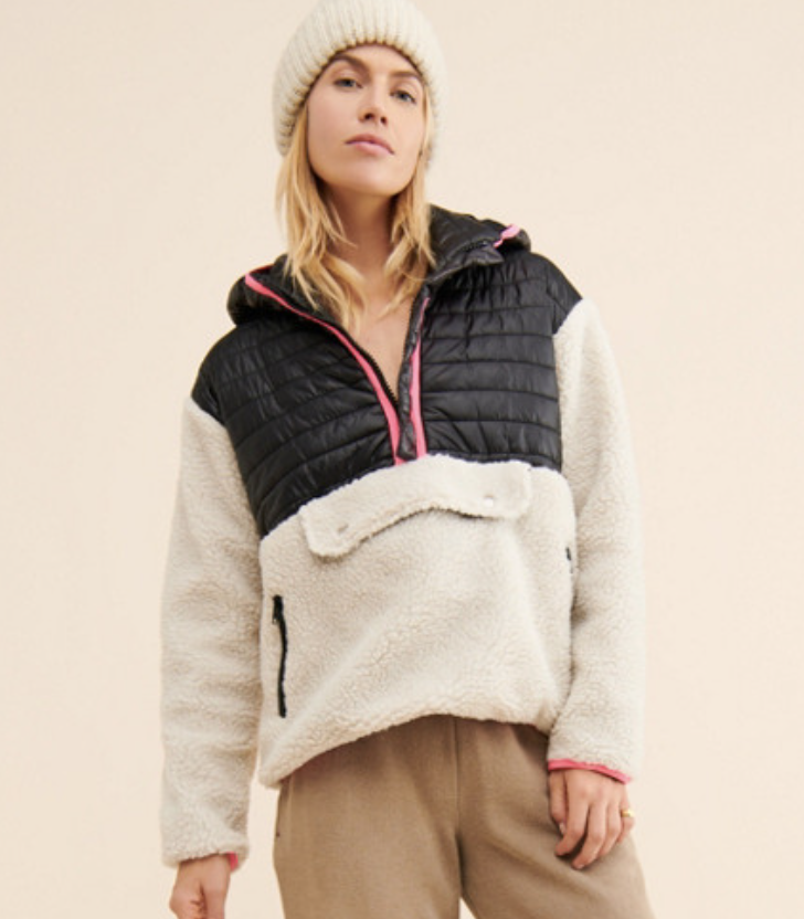 Bowie Sherpa Pullover