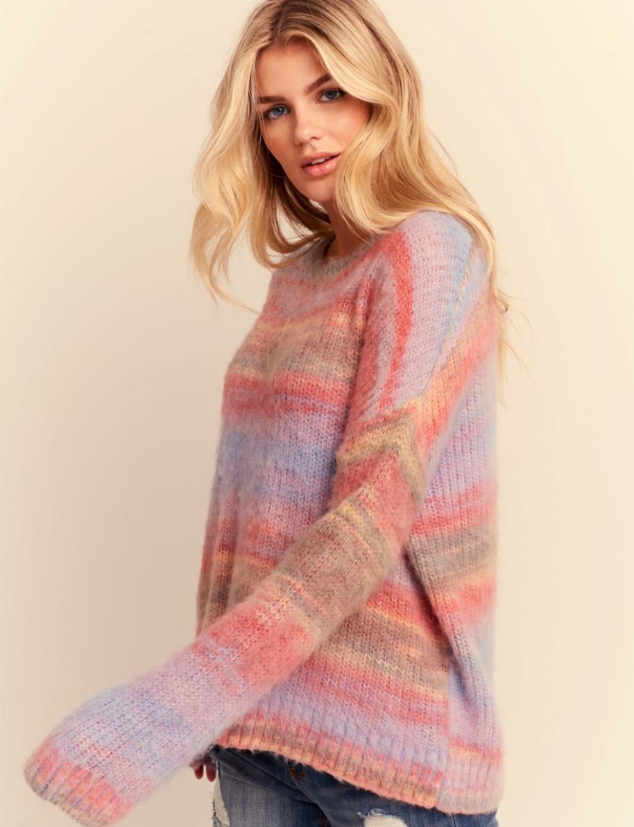 Rainbow Brite Sweater