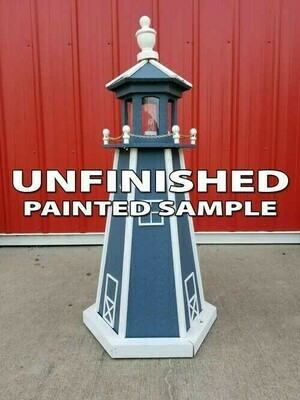 Unfinished Amish Crafted Lighthouse