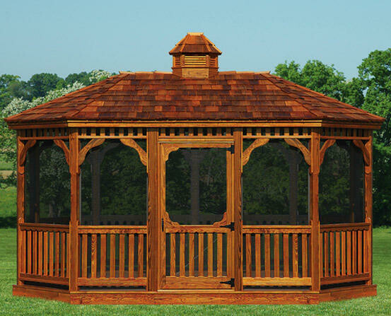 Victorian Wood Gazebos