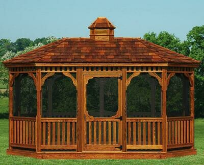 Victorian Wood Gazebos