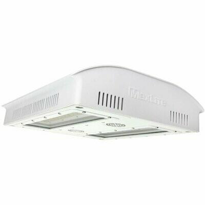 MaxLite PhotonMax Green House LED Fixture, 600 Watts, Broad PAR with Heavy 660NM, White Finish, 347-480V