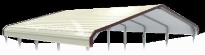 Regular Style Metal Carport by Eagle Carports
