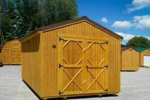 Utility Shed by Gold Star Buildings