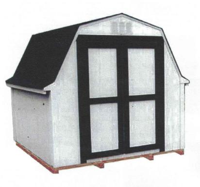 10' x 10' Budget Barn
