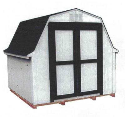 8' x 6' Budget Barn
