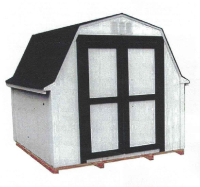 8' x 8' Budget Barn