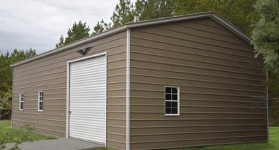 Regular Style Metal Garage
