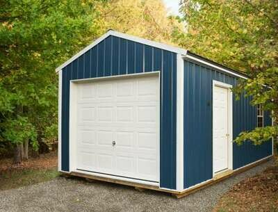 Garage by Gold Star Buildings