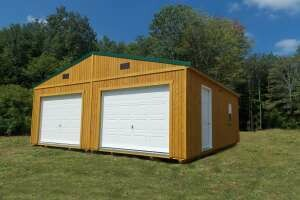 Double-Wide Garage by Gold Star Buildings