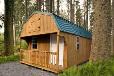 Lofted Cabin by Gold Star Buildings