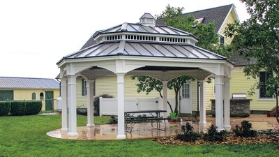 Oval & Octagon Pavilions