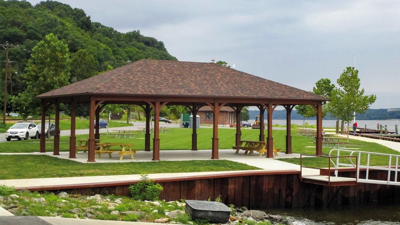 Large Wood Pavilions