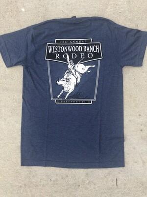 Heather Blue WWR Rodeo Tshirt