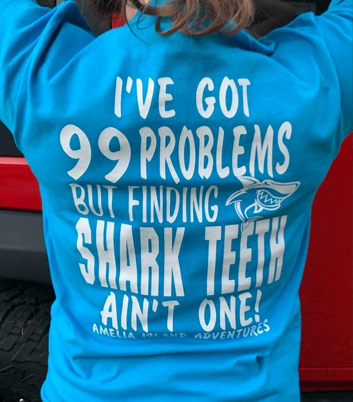 Shark Tooth Hunting Long Sleeve UV Performance Shirt