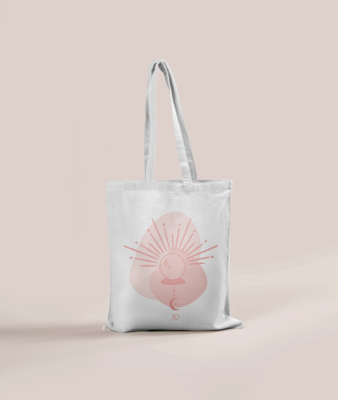 """""""CLAIRVOYANT"""" TOTE BAG"""
