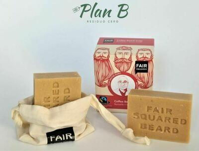 Jabón Natural para Barba con Café