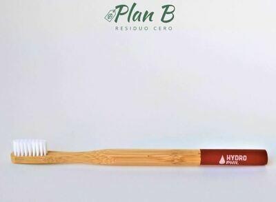 Cepillo de Dientes de Bambú - Rojo