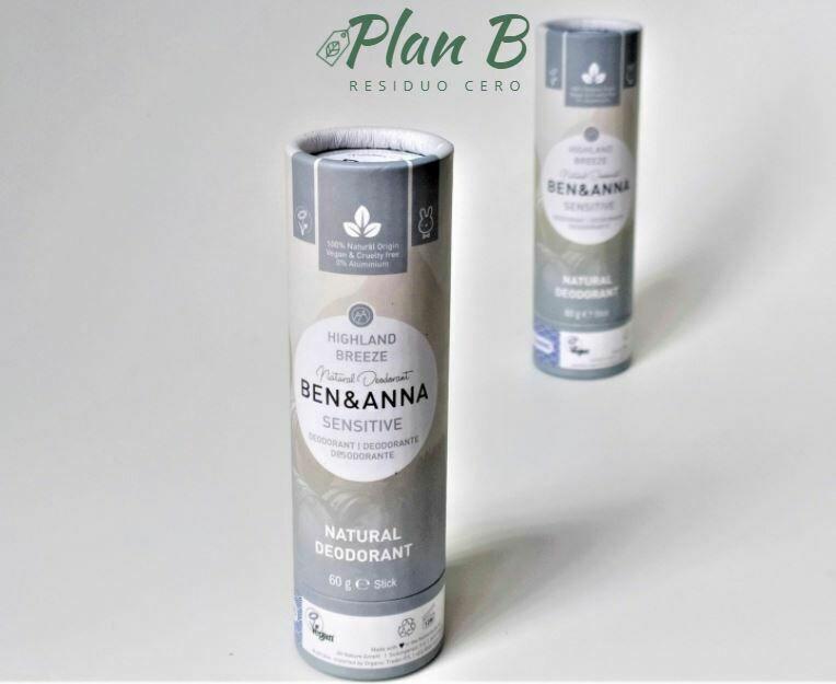 Desodorante Natural Pieles Sensibles – Brisa de las Tierras Altas