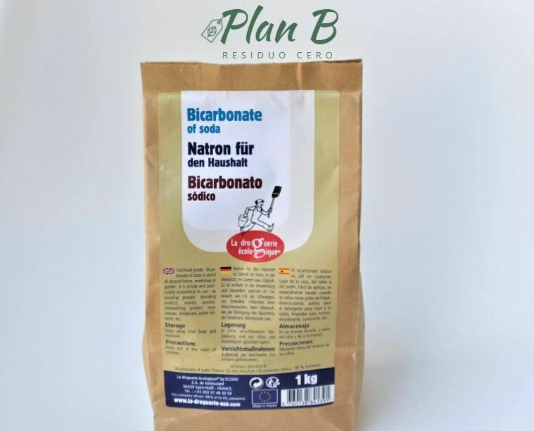 Sodium Bicarbonate - 1kg Paper Container