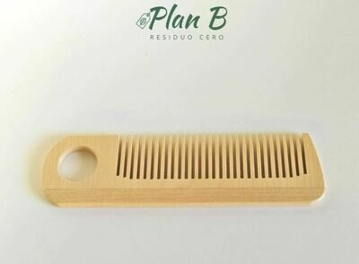Wooden Comb with Hanging Hole