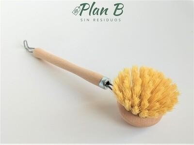 Cepillo de Madera para Fregar - Cerdas Duras