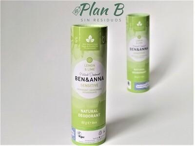 Desodorante Natural Pieles Sensibles – Lima y Limón