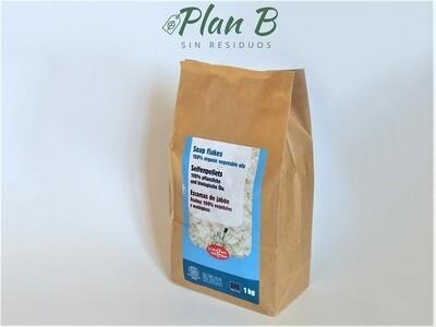 Escamas de Jabón Vegetal - Envase de Papel 1kg