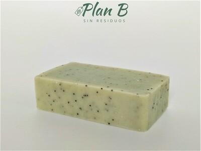 Jabón Corporal Natural - Equilibrante con Arcilla Verde y Limón