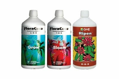 FloraCoco Grow/Bloom + Ripen Tripack 500ml