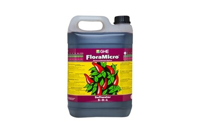 GHE FloraMicro Soft Water 5 Liter