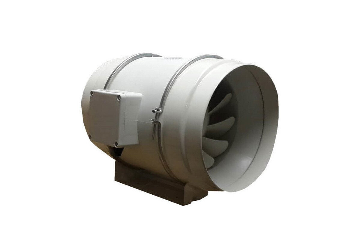 AMS In Line Tube Fan 100mm