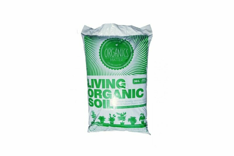 Organics Matter Living Organic Soil 30 Liter