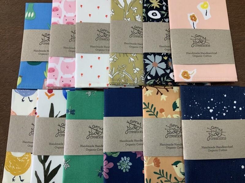 Handmade Handkerchief Organic Cotton