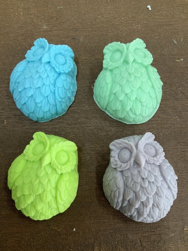 Owl goats milk soap