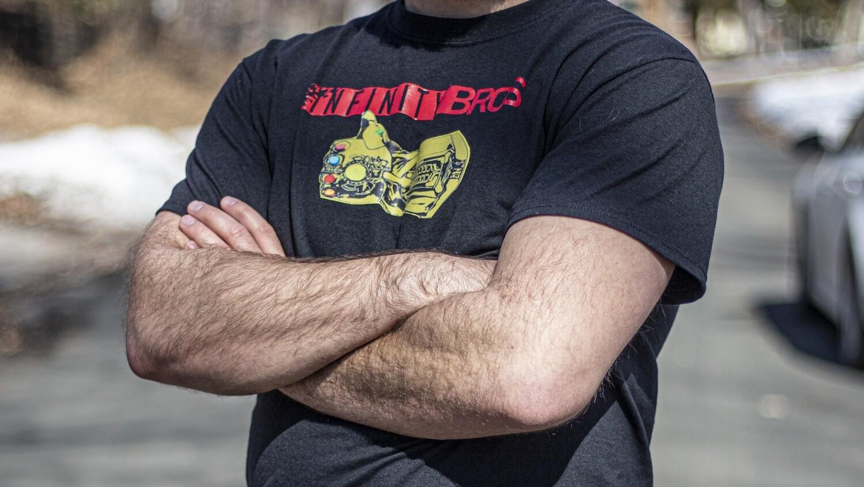 Infinity Bros T-shirt