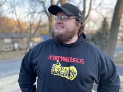 Infinity Bros Hoodie Sweatshirt