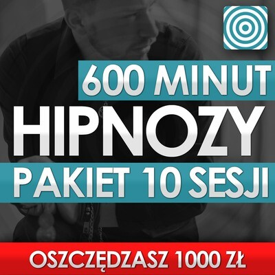 Pakiet 10 Sesji Hipnozy 600 Minut