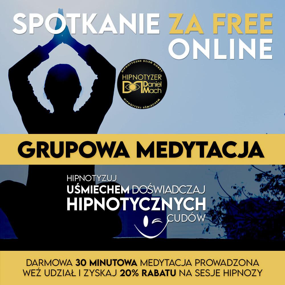 Grupowa Medytacja Prowadzona - Online