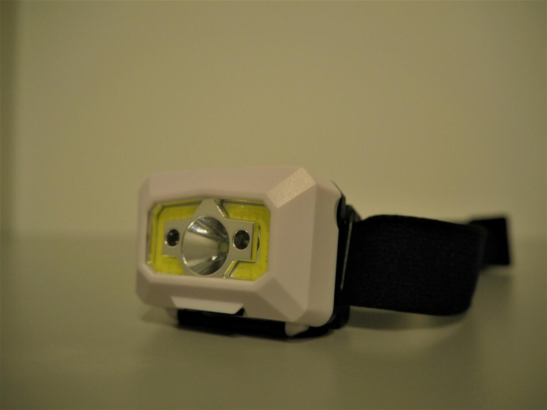 500 LM Otsalamppu liiketunnistimella - USB ladattava