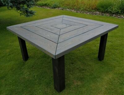 Aito Lankkupöytä PYRAMIDI 150x150cm