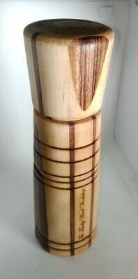 BT - MOULIN A POIVRE (BAIES) 220x68 en bois tourné mécanisme céramique